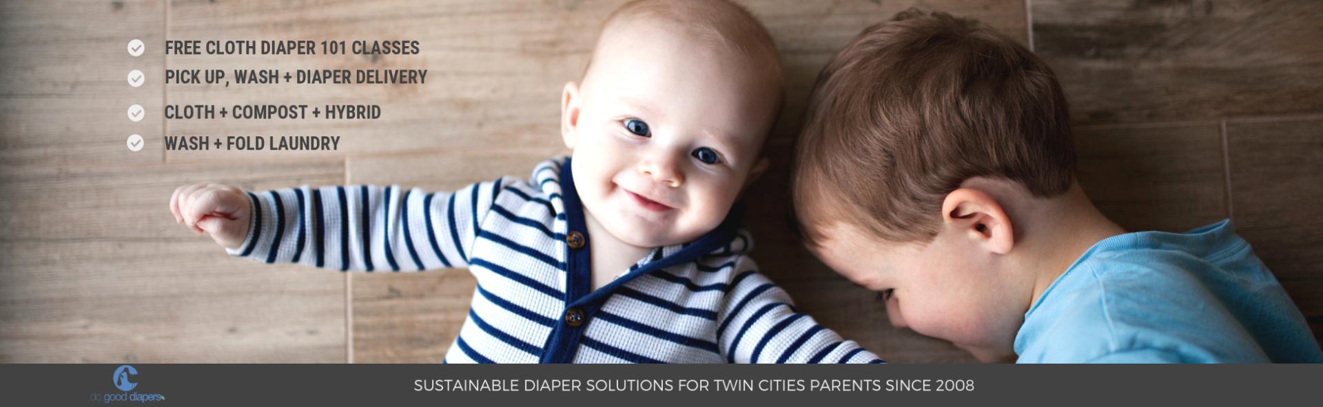 Do Good Diaper Cloth Diaper Service - Minneapolis, MN