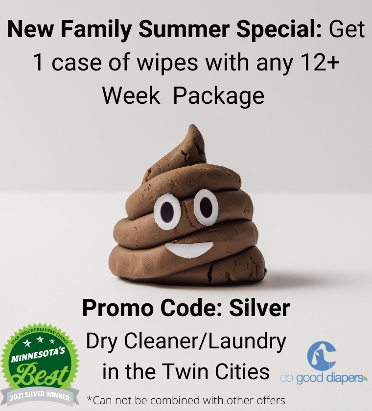 New family Cloth Diaper Summer Special Service
